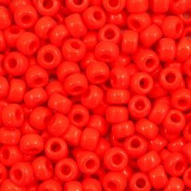 Miyuki Rocailles 8/0 Opaque vermilion red