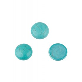 25mm cabochon Turquoise Howlite