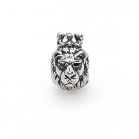 RVS spacer leeuw met kroon 304 Stainless steel