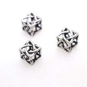RVS spacer square celtic knot 304 Stainless steel