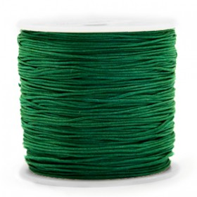 Macramé draad 0.8mm Dark green