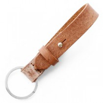 Cuoio sleutelhanger 15mm Auburn brown