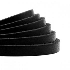 DQ leer plat 5mm Black