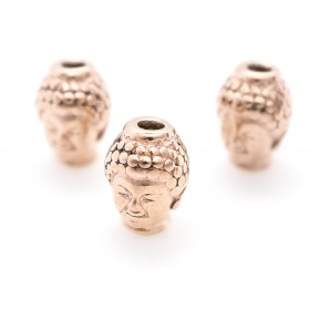 RVS spacer buddha Rose gold 304 Stainless steel