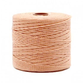 Nylon S-Lon draad 0.6mm Vintage rose brown