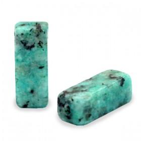 Natuursteen kralen tubes Granite Pagoda blue marmer