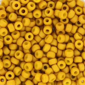 Miyuki Rocailles 8/0 opaque matt mustard