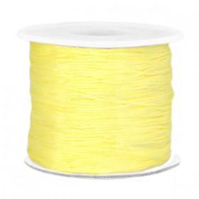 Macramé draad 0.7mm Soft yellow
