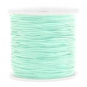 Macramé draad 0.8mm Light turquoise green