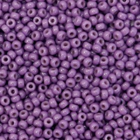 Miyuki rocailles 11/0 Duracoat opaque anemone purple 11-4490