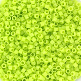 Miyuki Delica 11/0 opaque chartreuse