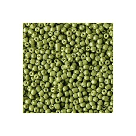 Rocailles 2mm Moss green