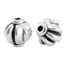 Metalen kralen Zilver