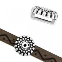 Schuiver voor 5mm plat leer/draad